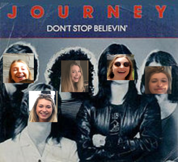 Dont stop believing pic