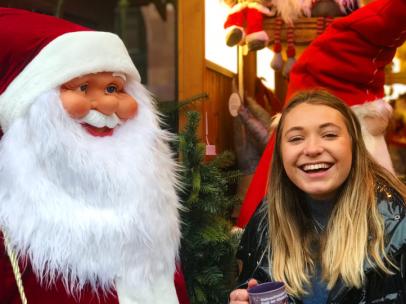 Father Christmas and I